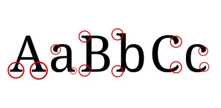 Accesibilidad cognitiva tipos de letra