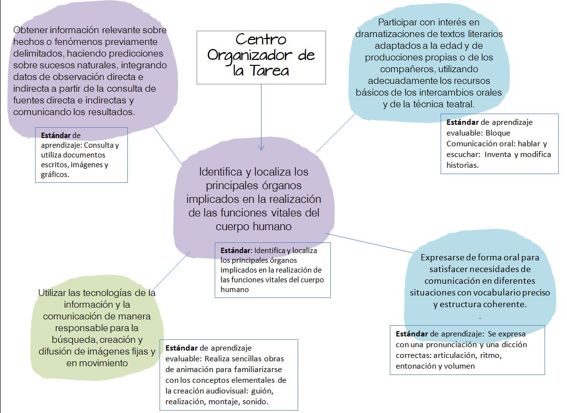 criterios y estándares de la Tarea